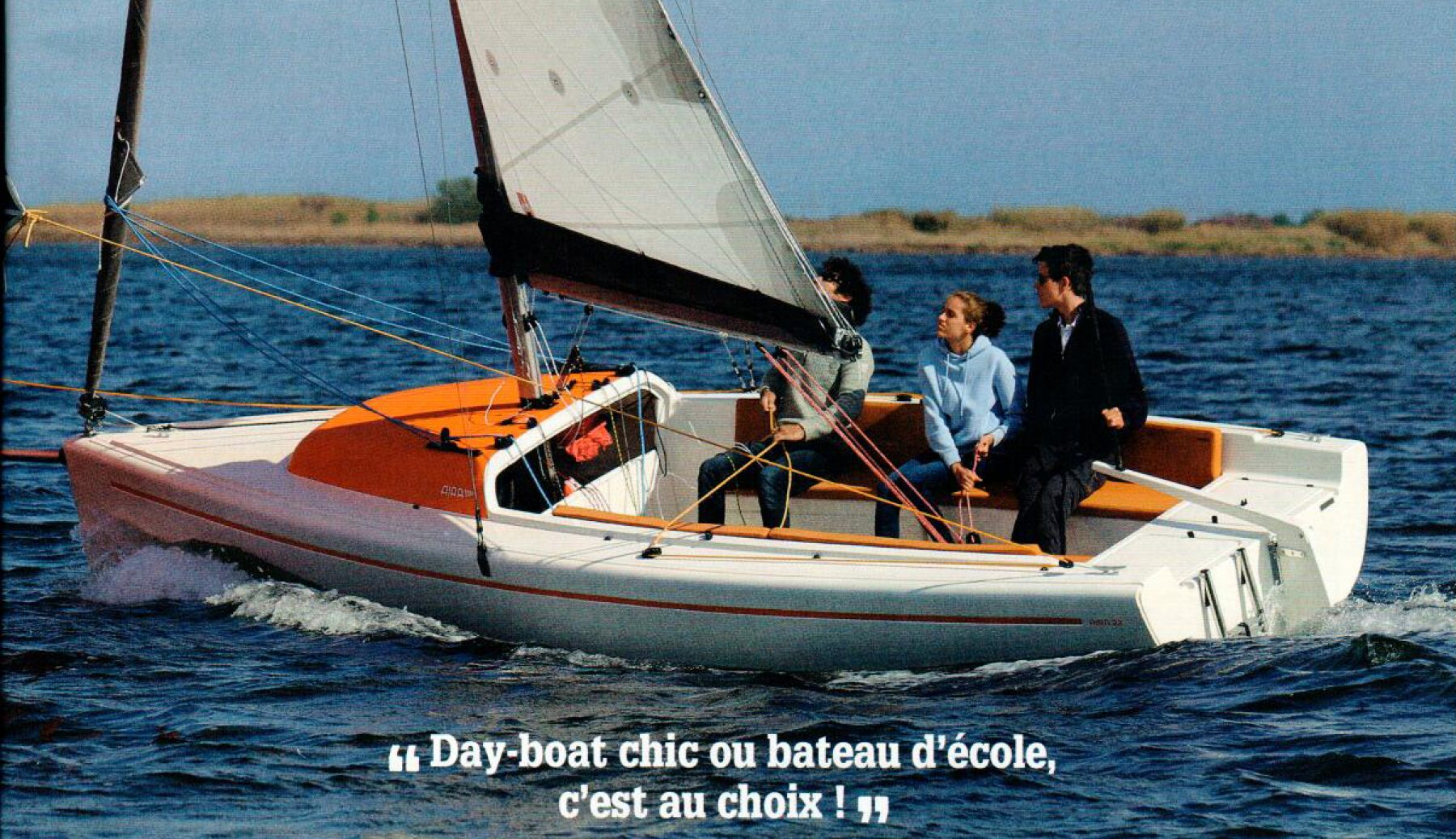 Review: 'Ce day-boat a tous talents!' – Voile Magazine